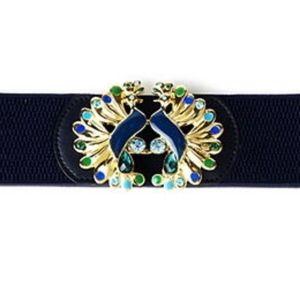 Lilly Pulitzer Peacock Emmett Belt